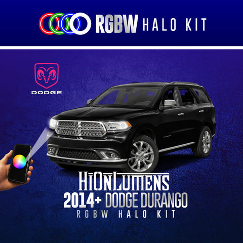 2014+ Dodge Durango RGBW Halo Kit