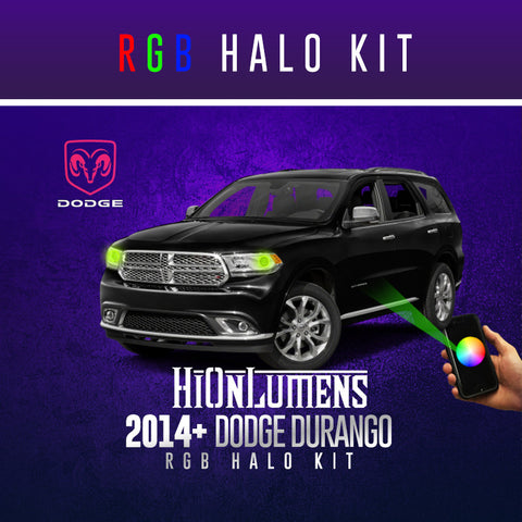 2014+ Dodge Durango RGB Halo Kit