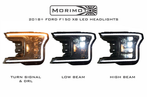Ford F150 (18+): XB LED Headlights