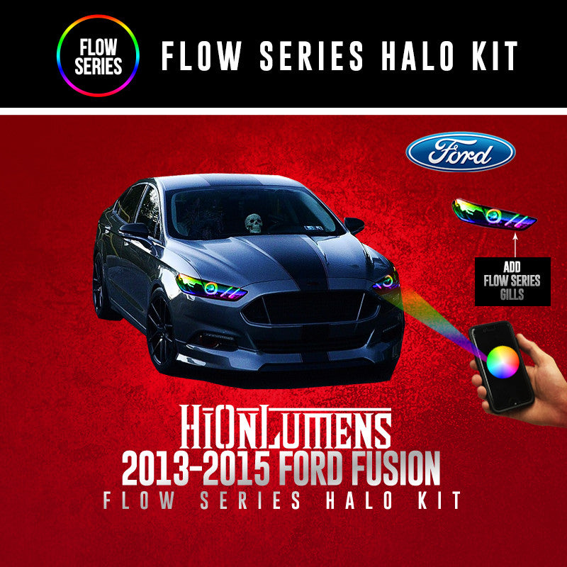 2013-2015 Ford Fusion Flow Series Halo Kit
