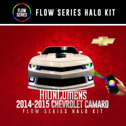 2014-2015 Chevrolet Camaro Flow Series Halo Kit