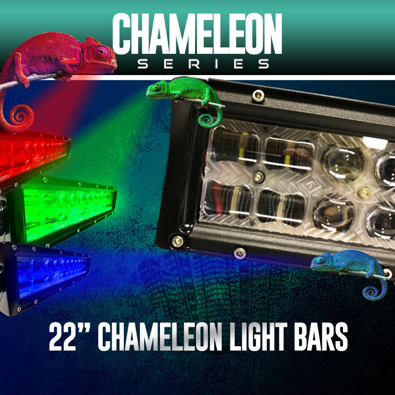 "22"" Chameleon Series Light Bar (RGB)"