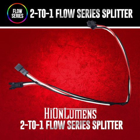 2-to-1 Flow Series Splitter