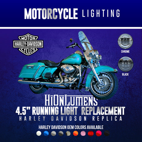 "4.5"" Harley Davidson Running Light Replacement"