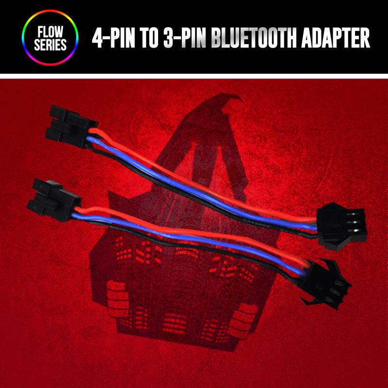 4 Pin To 3Pin Flow Series Bluetooth Adapter