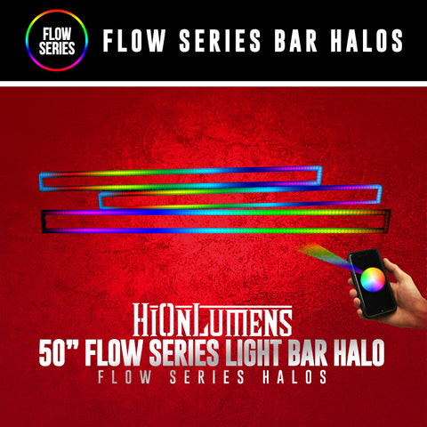 "50"" Flow Series Light Bar Halo"