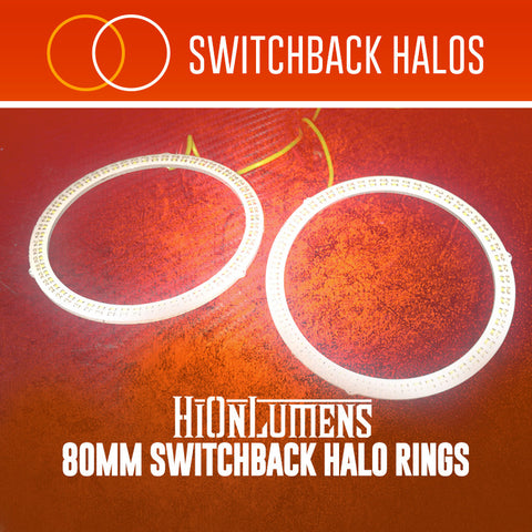 80mm Switchback Halo Rings