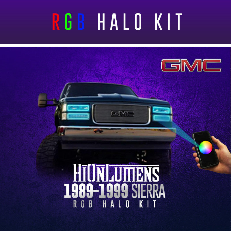 1989-1999 Silverado RGB Halo Kit