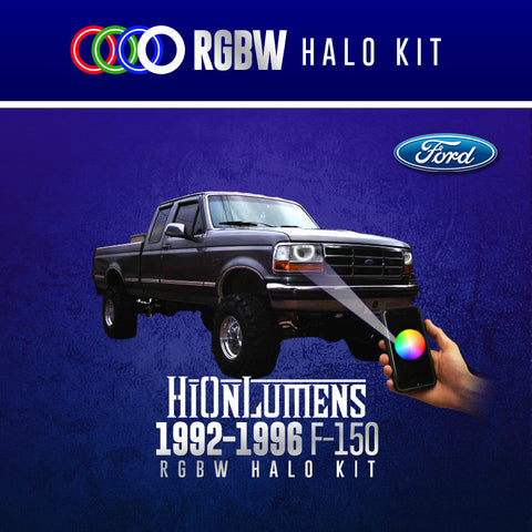 1992-1996 Ford F-150 RGBW Halo Kit