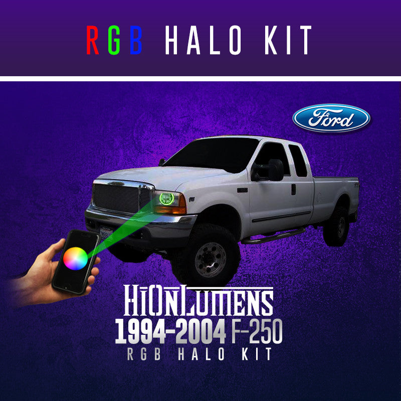 1994-2004 F-250 RGB Halo Kit