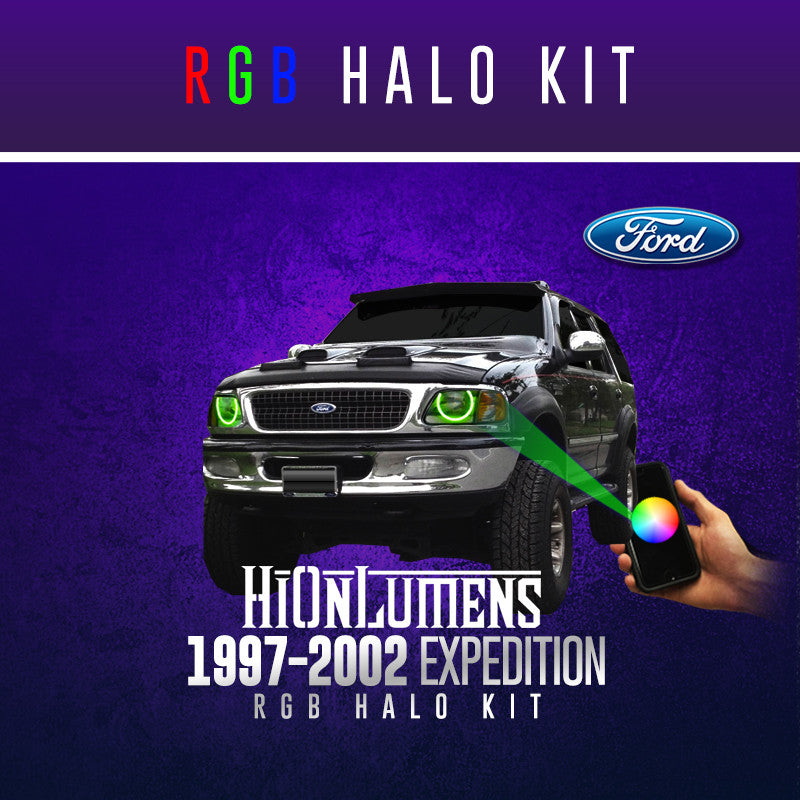 1997-2002 Ford Expedition RGB Halo Kit