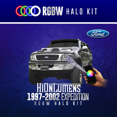 1997-2002 Ford Expedition RGBW Halo Kit