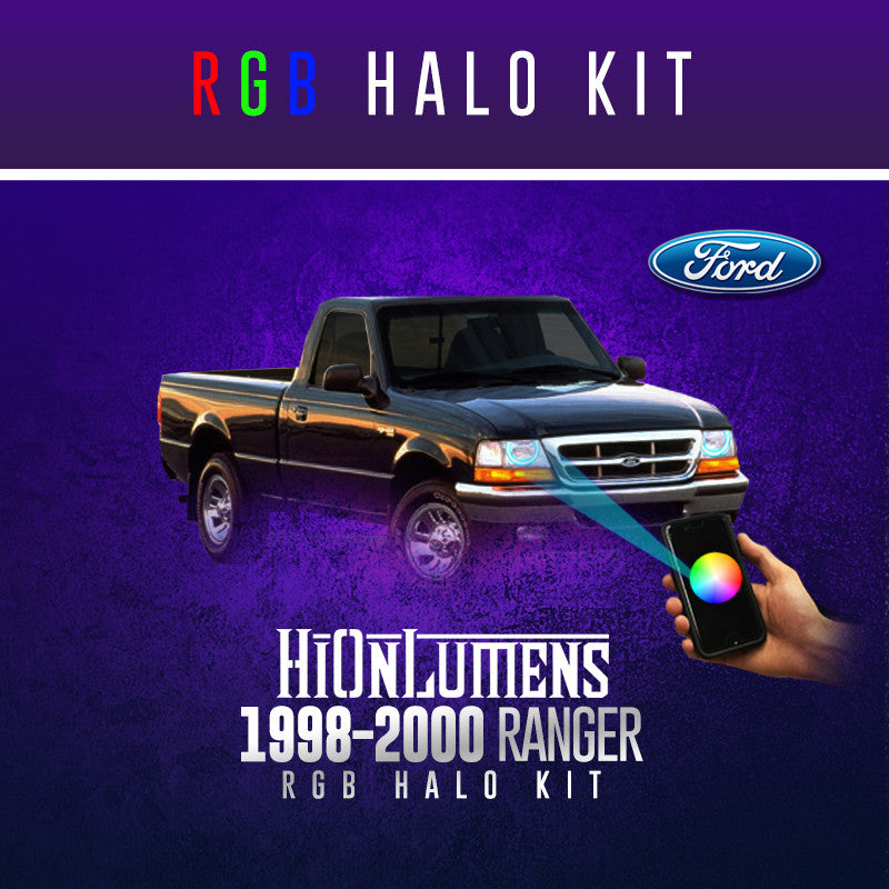 1998-2000 Ford Ranger RGB Halo Kit