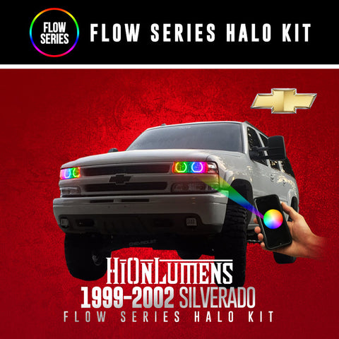1999-2002 Chevrolet Silverado Flow Series Halo Kit