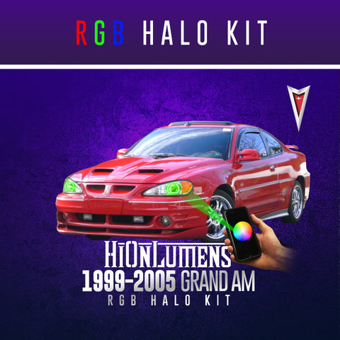 1999-2005 Pontiac Grand Am RGB Halo Kit