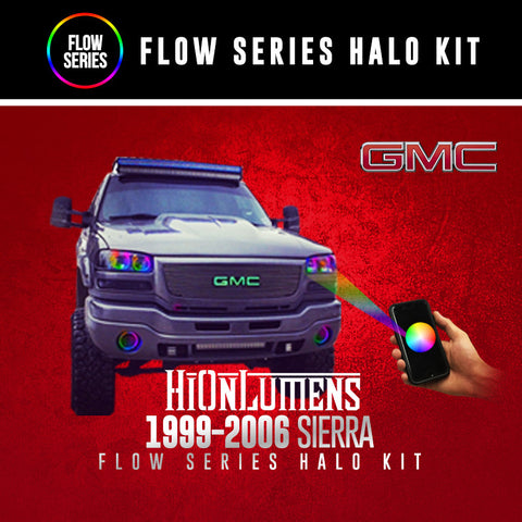 1999-2006 GMC Sierra Flow Series Halo Kit