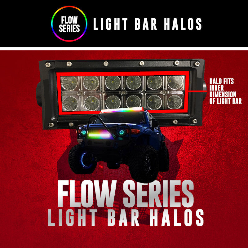 "Flow Series Light Bar Halos (6"", 12"", 20"", 30"", 50"")"