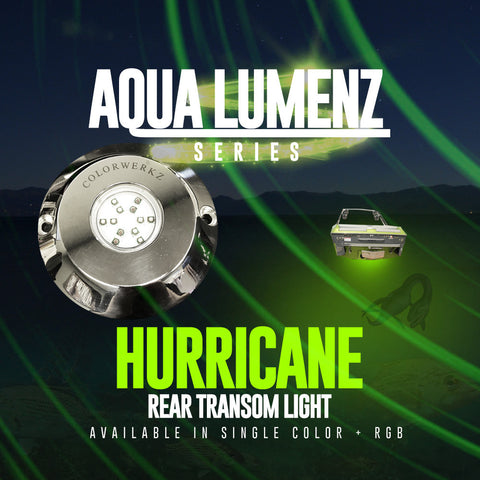 AquaLumenz | Hurricane Rear Transom Light (RGB)