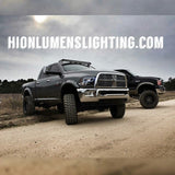 09-15 Dodge Ram Quad Lamp Headlight Halo Build