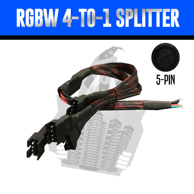 4-to-1 RGBW Splitter