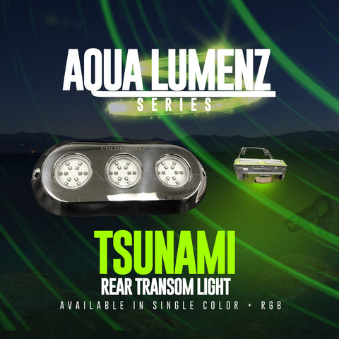AquaLumenz | Tsunami Rear Transom Light (RGB)