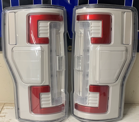 17+ Ford Super Duty Color Matched Tail Lights
