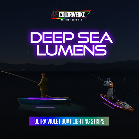 Deep Sea Lumens - Ultra-Violet Boat Lighting