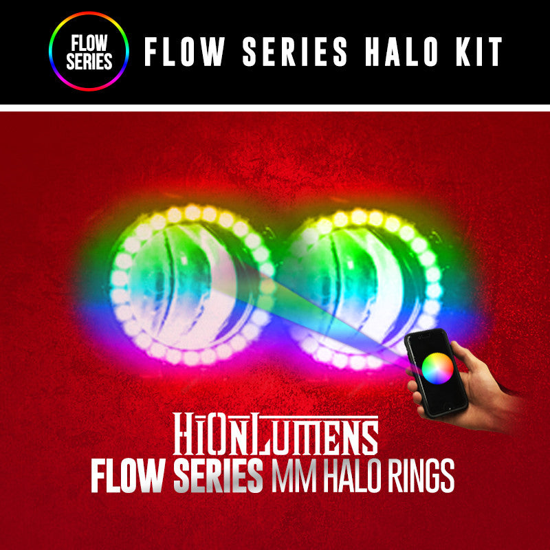 Flow Series MM Halo Rings