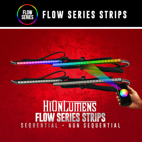 Flow Series Strips (Sequential & Non-Sequential)