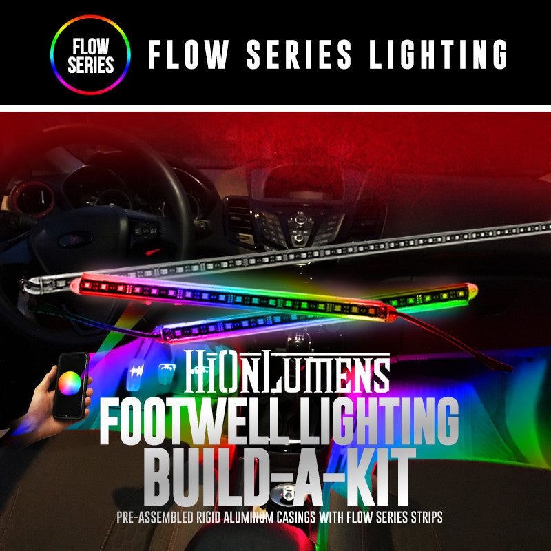 Flow Series Interior Footwell Build-A-Kit