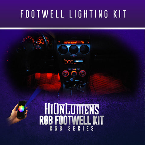 RGB Footwell Lighting Kit