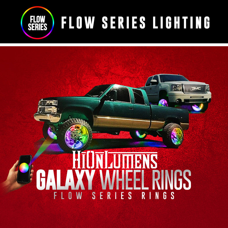 Galaxy Wheel Rings (Flow Series)