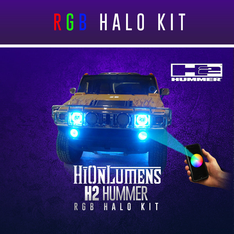 H2 Hummer RGB Halo Kit