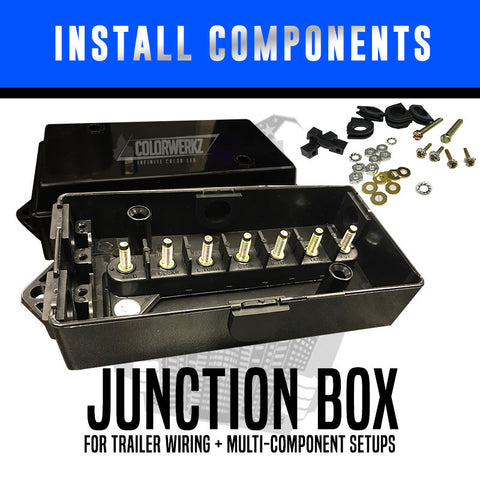 Junction Box | Trailer Wiring + Multi-Component Setup
