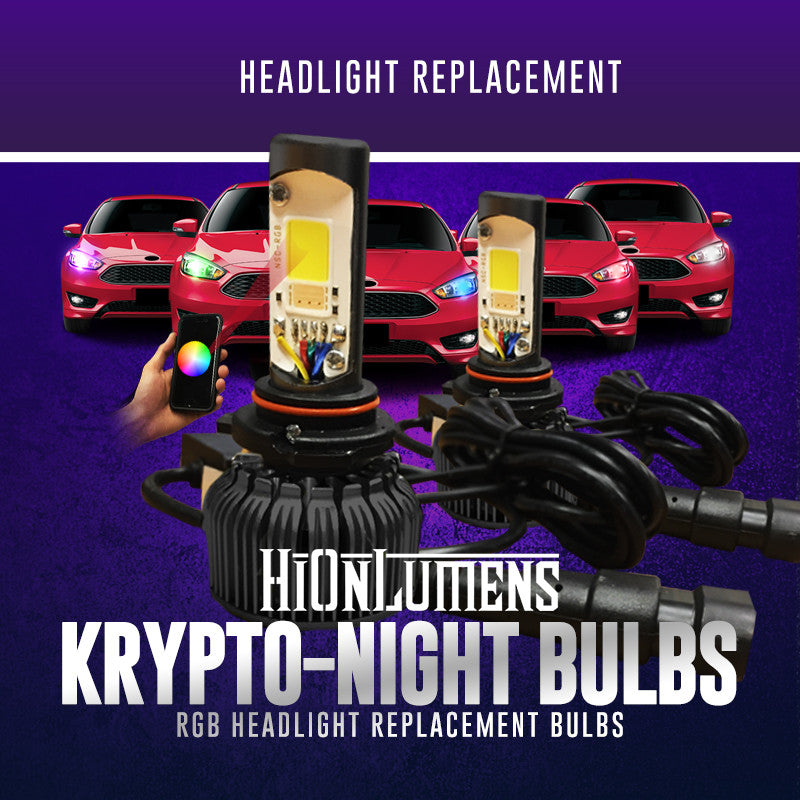 Krypto-Night Bulbs Headlight Replacement