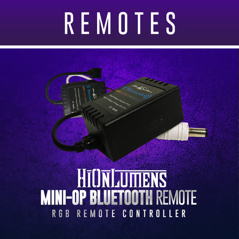 Mini-Op Bluetooth Remote
