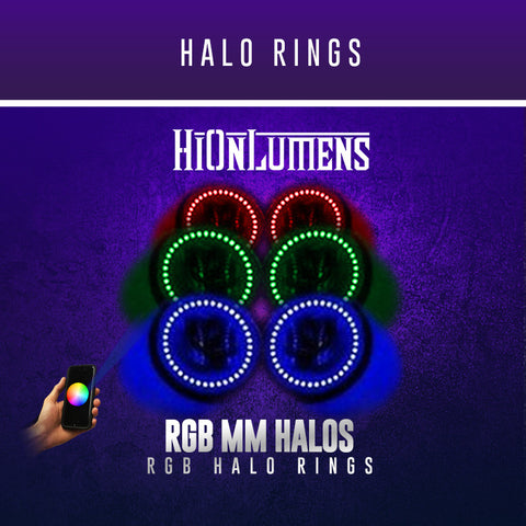 RGB Halo Rings (60mm-180mm)