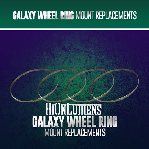 Galaxy Wheel Ring Mount Replacement
