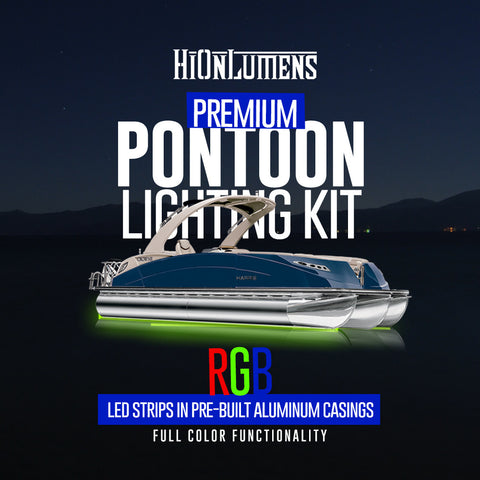 Pontoon Lighting | Flexible Waterproof LED Strips