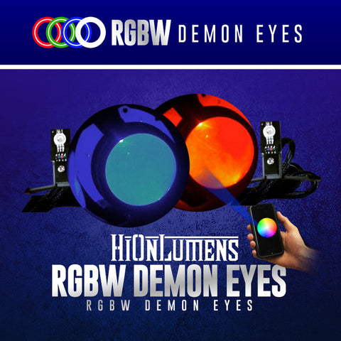 RGBW Demon Eyes