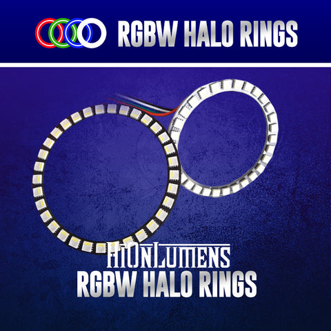 RGBW Halo Rings (60mm-160mm)