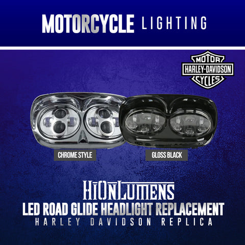 Harley Davidson RoadGlide Headlights