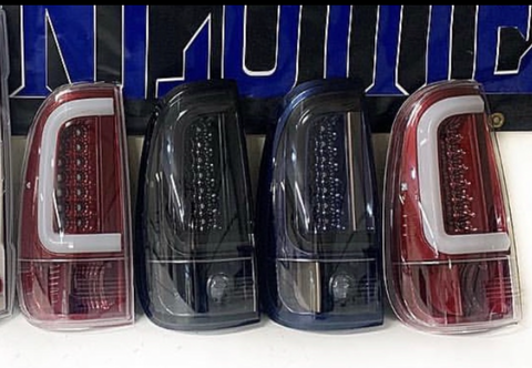 11-16 Ford Super Duty Color Matched Tail Lights