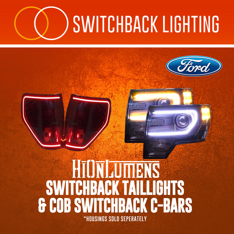 F-150 Switchback Taillights And/Or COB Switchback C-Bars