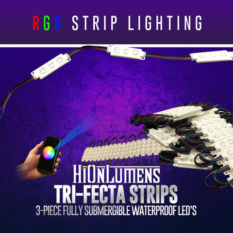 RGB Tri-Fecta Strip Lighting
