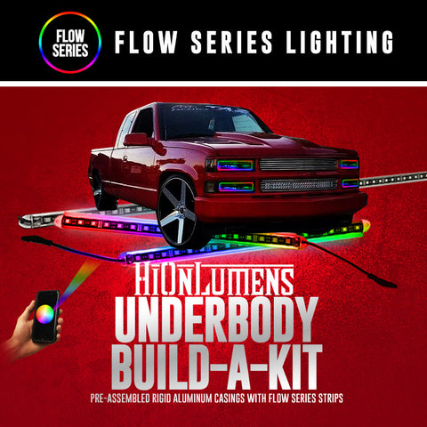 Flow Series Underbody Build-A-Kit