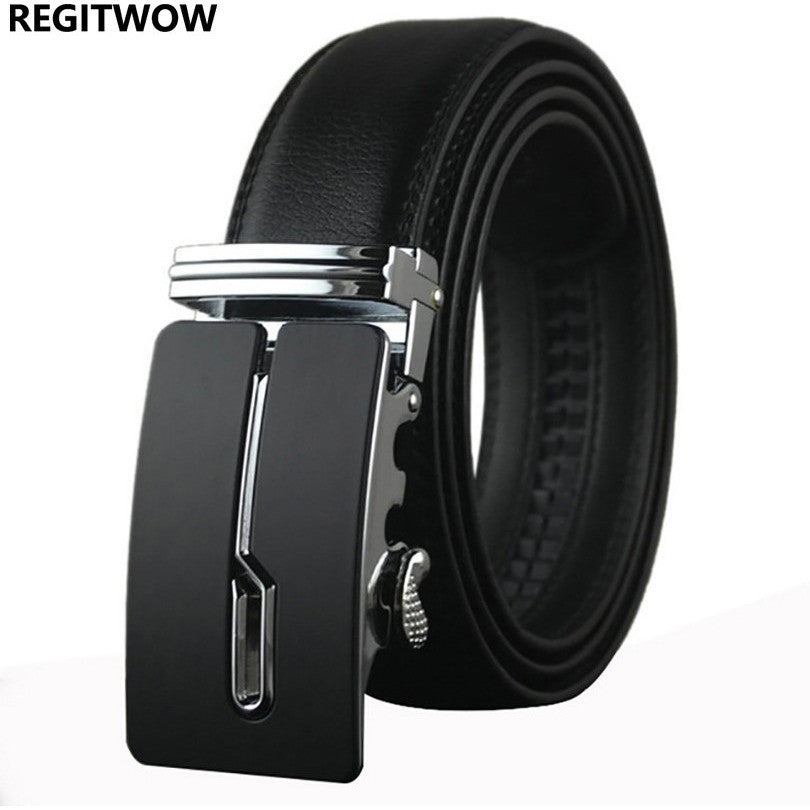 designer brand belts kapb  Men's Designer automatic buckle Luxury Belt