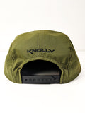 Hat - 5 panel-style embroidered hat