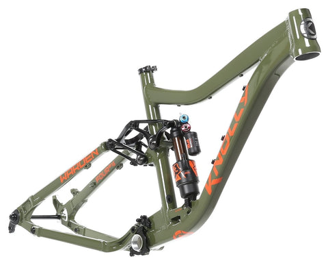 Warden Frame Army Green / Orange