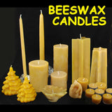 Bill's Bees 100% Pure Beeswax Candles